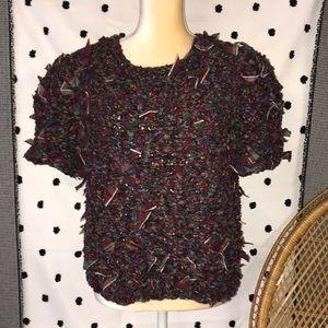 Vintage Paula Sweet Muslim Mink Sweater